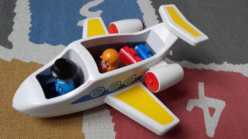 Playmobil 123 avion jaune