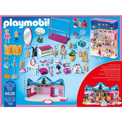 Playmobil calendrier fille