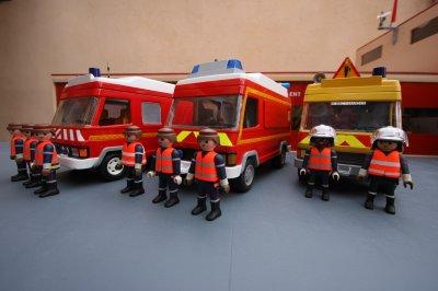 Playmobil pompier vsav
