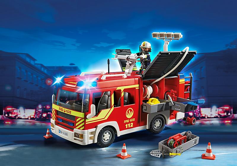 Playmobil city action pompier 5362