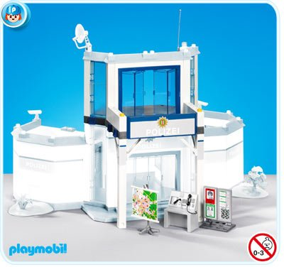 Playmobil commissariat de police 4264 notice