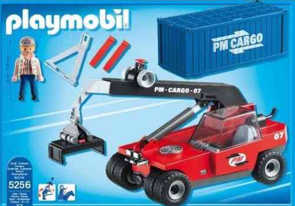 Playmobil action city cargo