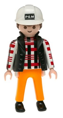 Playmobil chantier figurine