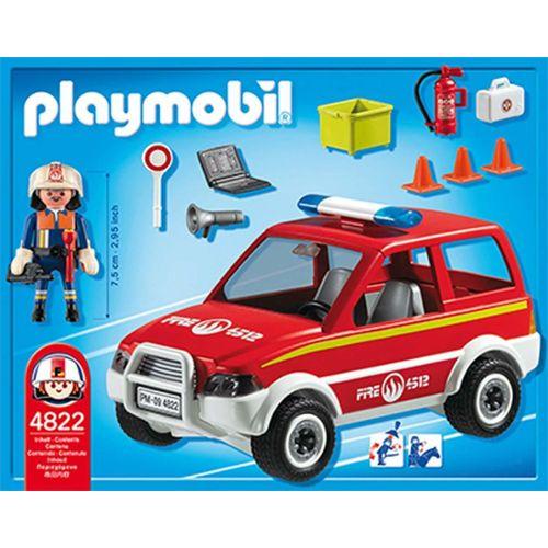 Playmobil voiture pompier 4822