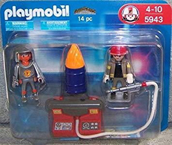Playmobil pompier video