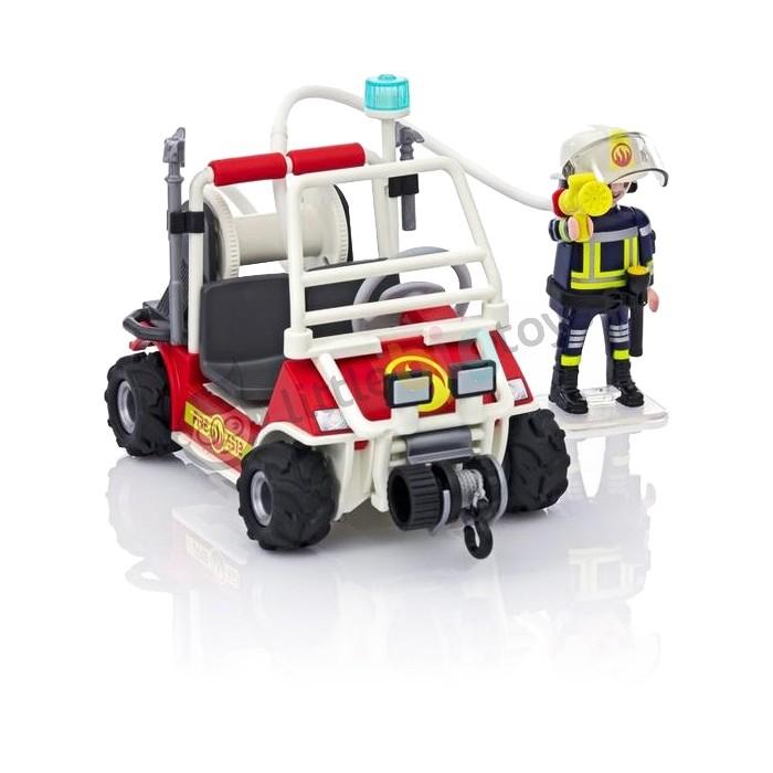 Playmobil city action quad straży pożarnej 5398