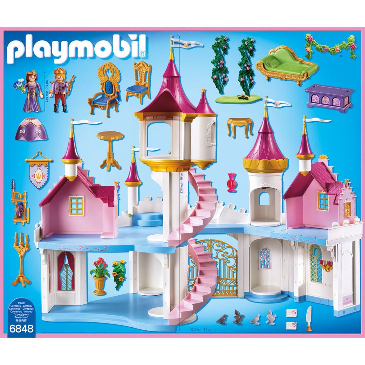 Playmobil chambre bébé princesse - stepindance.fr