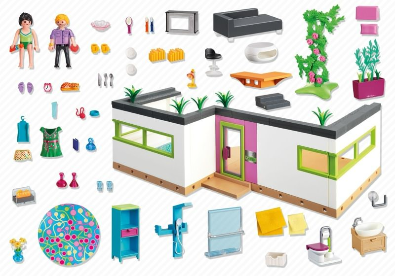 Awesome Salon Villa Moderne Play Mobil Images - House Design ...