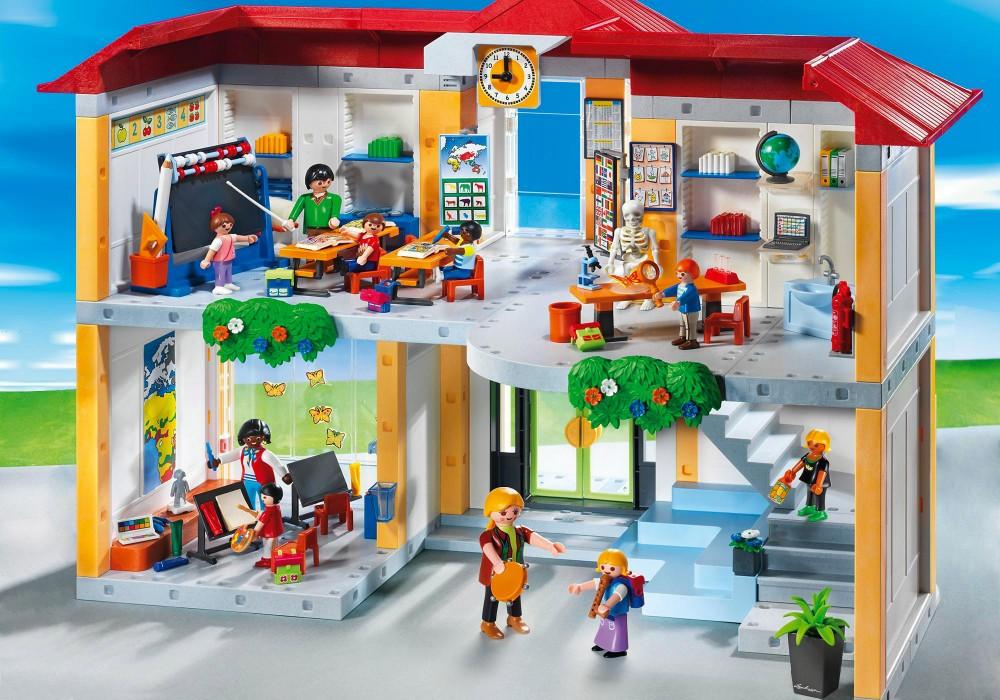 Playmobil ecole 3 salles de classe