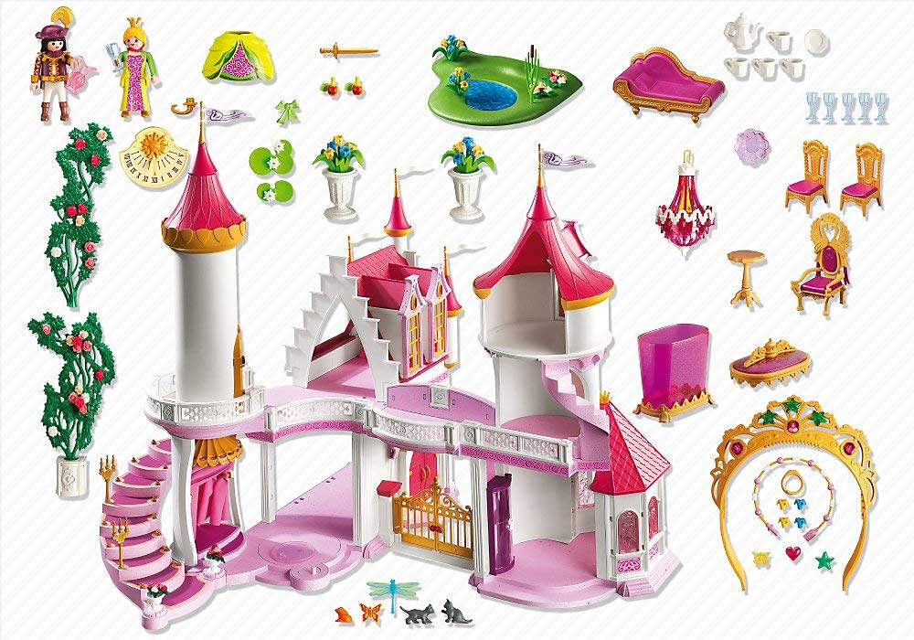 Parfait Playmobil Chateau Princesse Extension