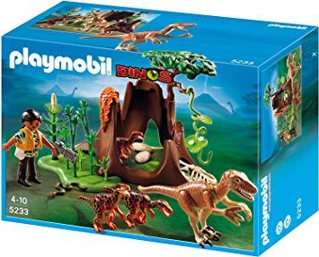 Playmobil dino angriff