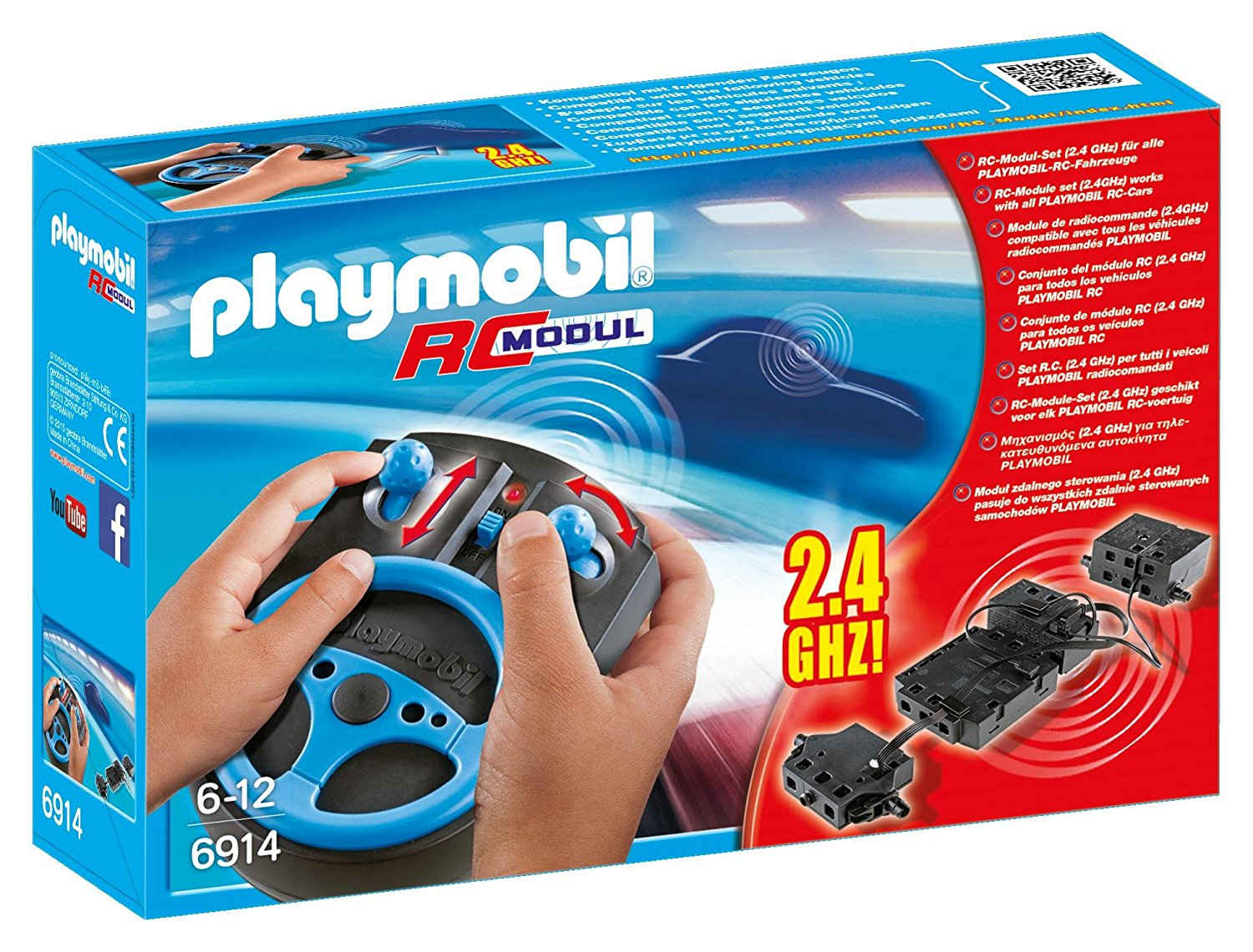 Camion pompier playmobil taille