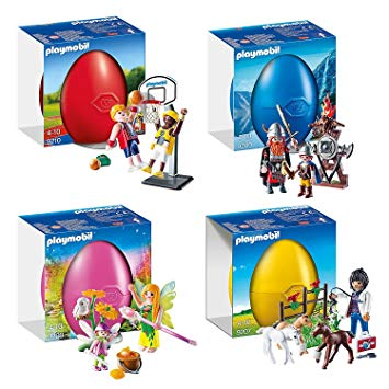 Playmobil osterei basketball