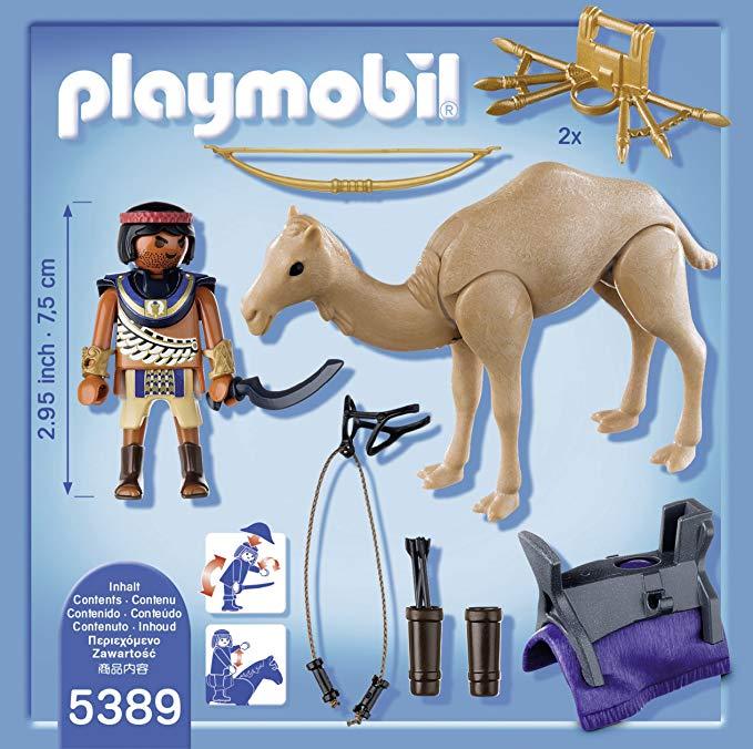 Playmobil egyptien bateau