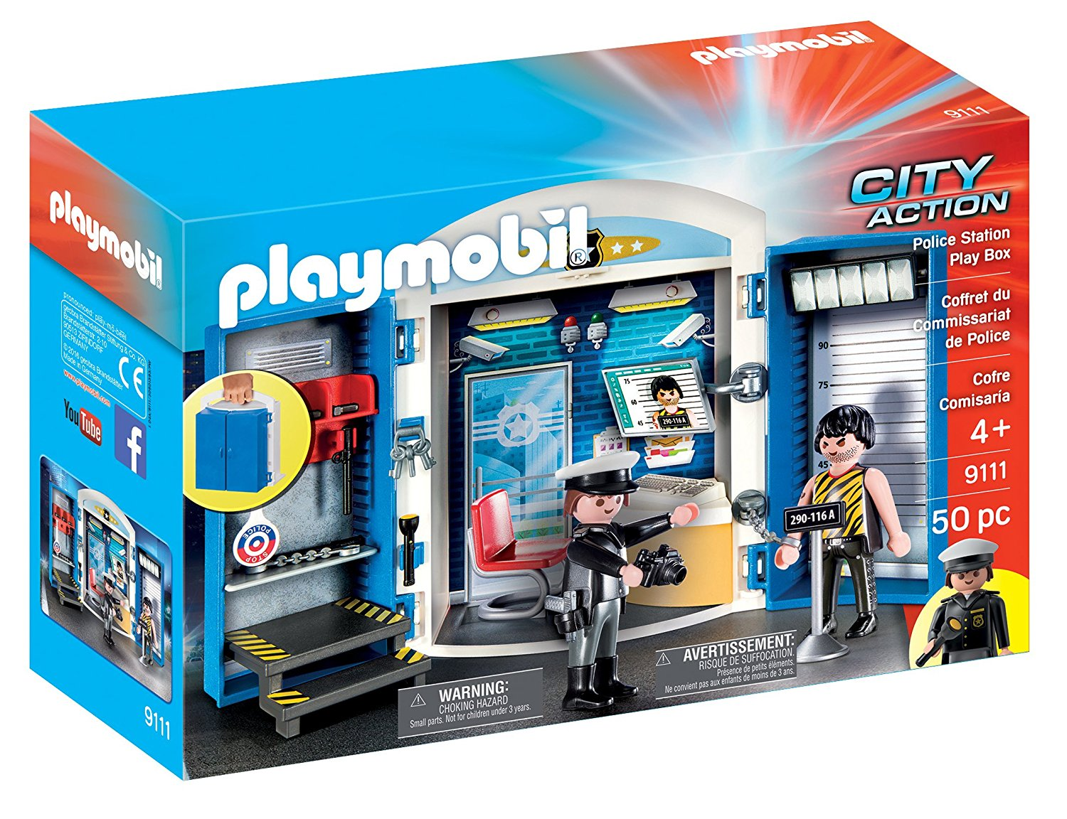 Playmobil commissariat toys r us