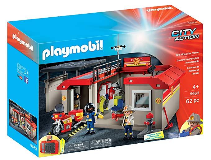 Playmobil pompier toys r us