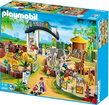 Playmobil old zoo set