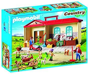 Notice playmobil ferme transportable