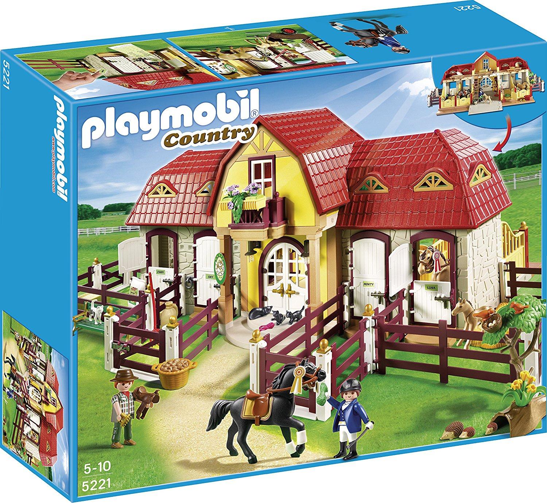 Prix centre equestre playmobil neuf