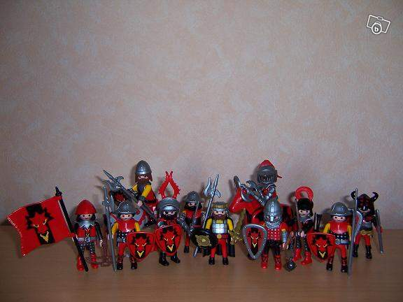 Personnage playmobil dragon
