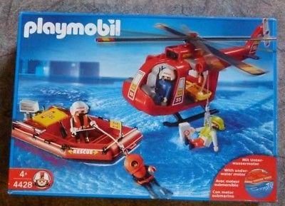 Playmobil pompier transportable
