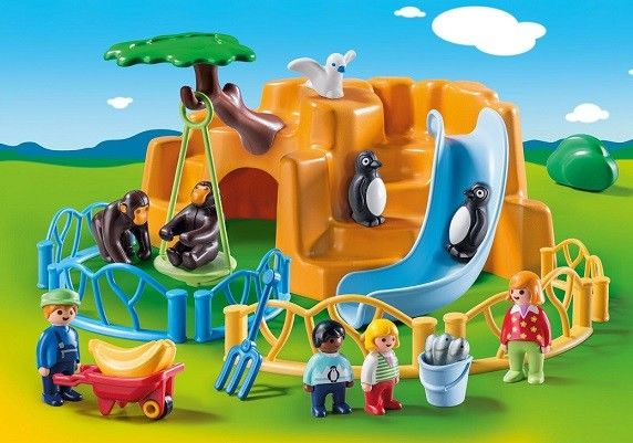 Playmobil 123 parc animaux