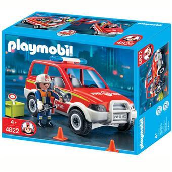 Playmobil secours pompiers
