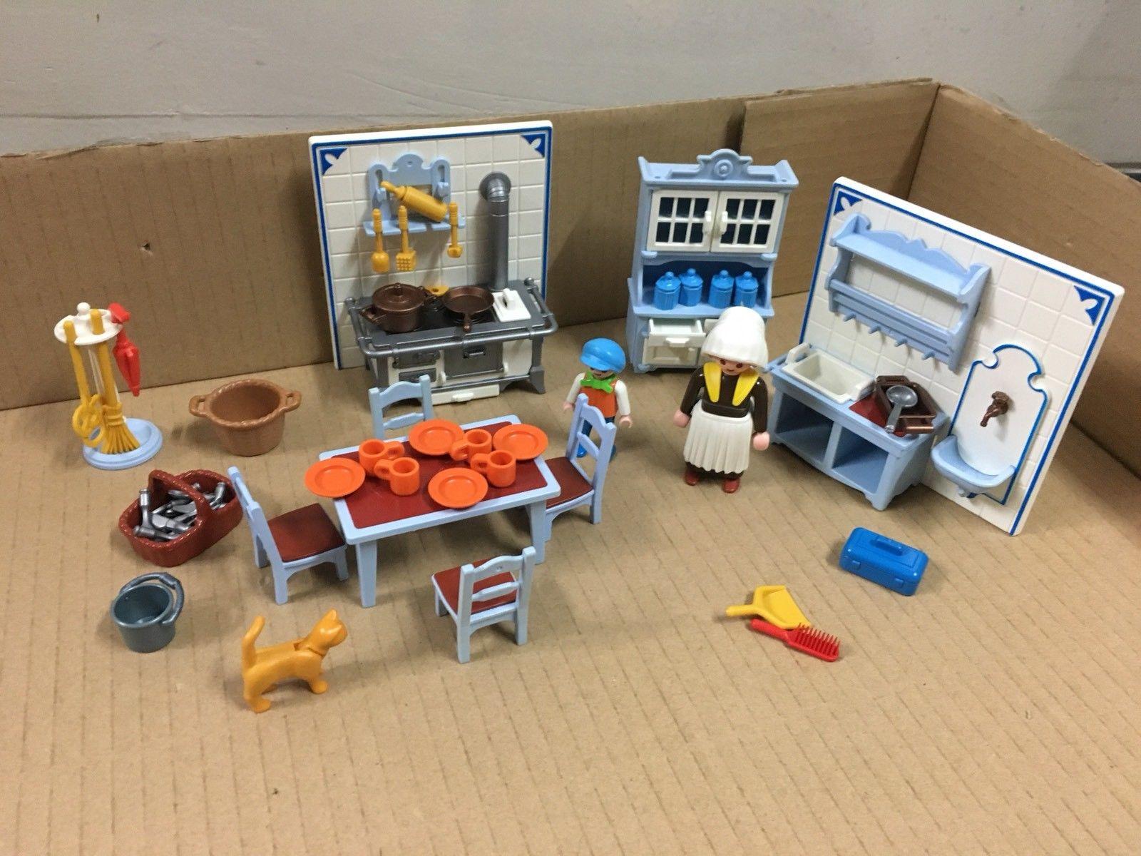 4251 Playmobil Cuisiniere Cuisine Stepindance Fr
