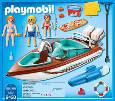 Playmobil bateau ski nautique
