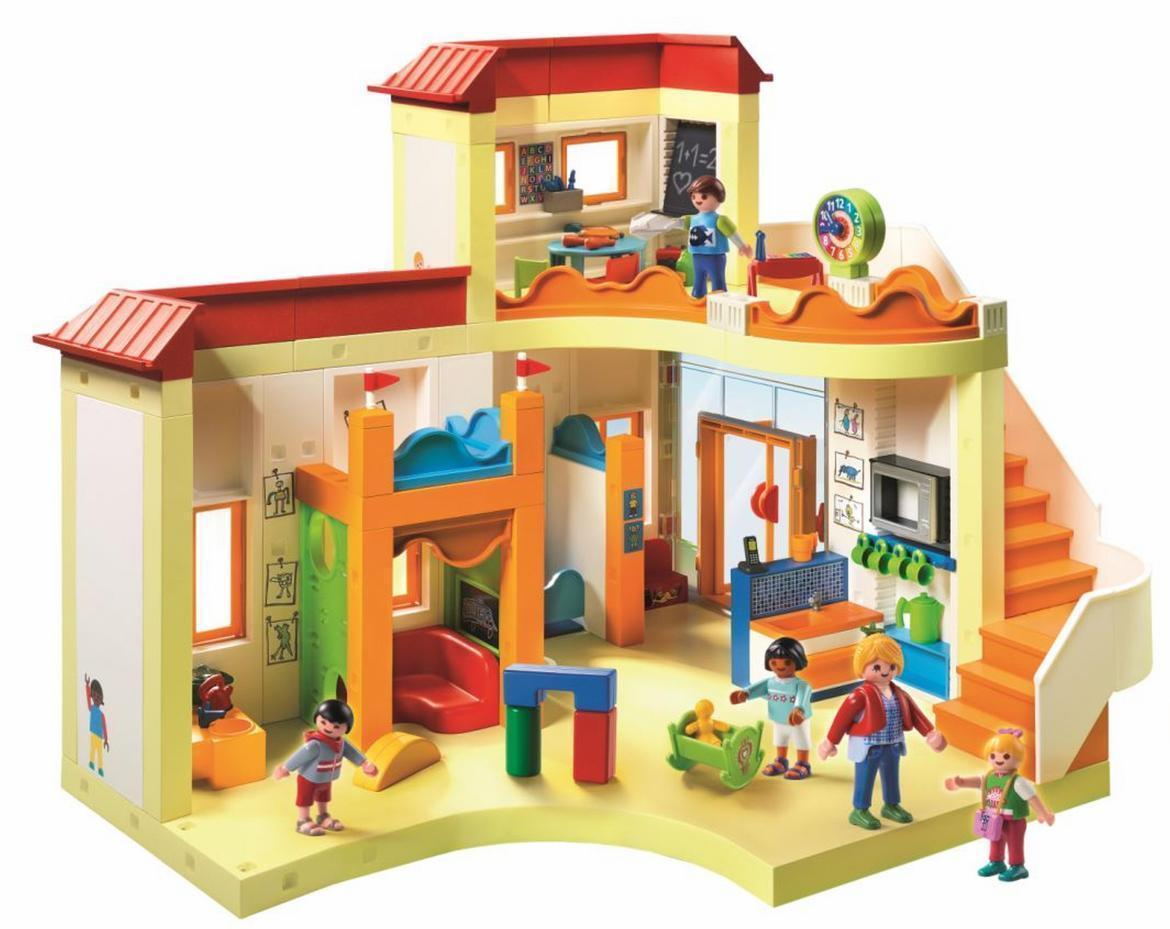Playmobil city life preschool