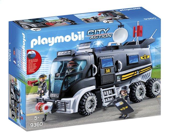 Playmobil voiture police avec bateau