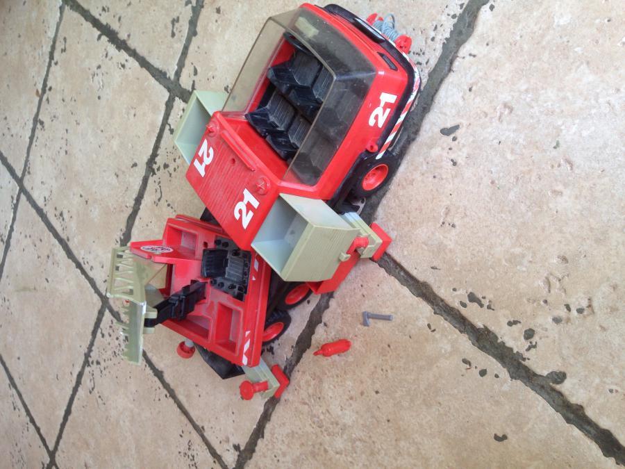 Playmobil camion pompier vintage