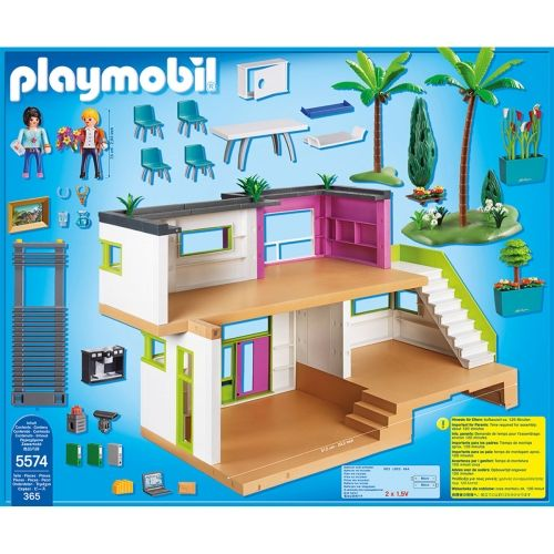 Playmobil en français maison moderne