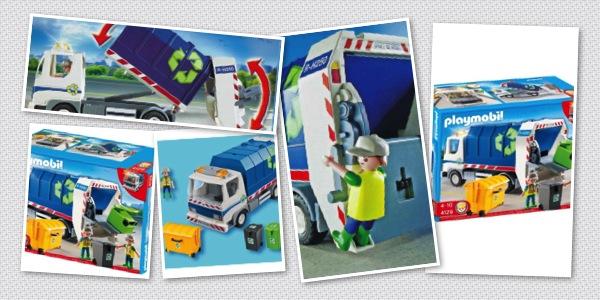 Camion benne poubelle playmobil