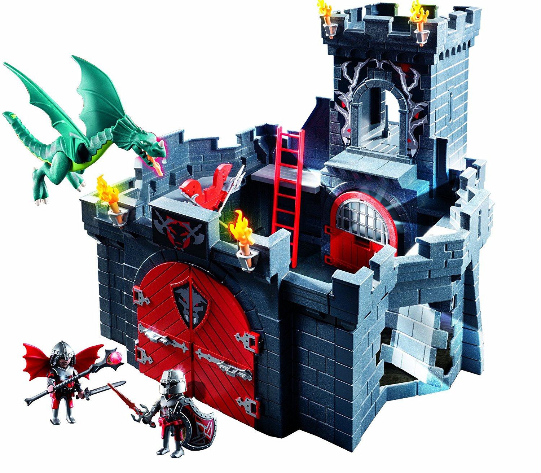 Playmobil chateau fort dragon