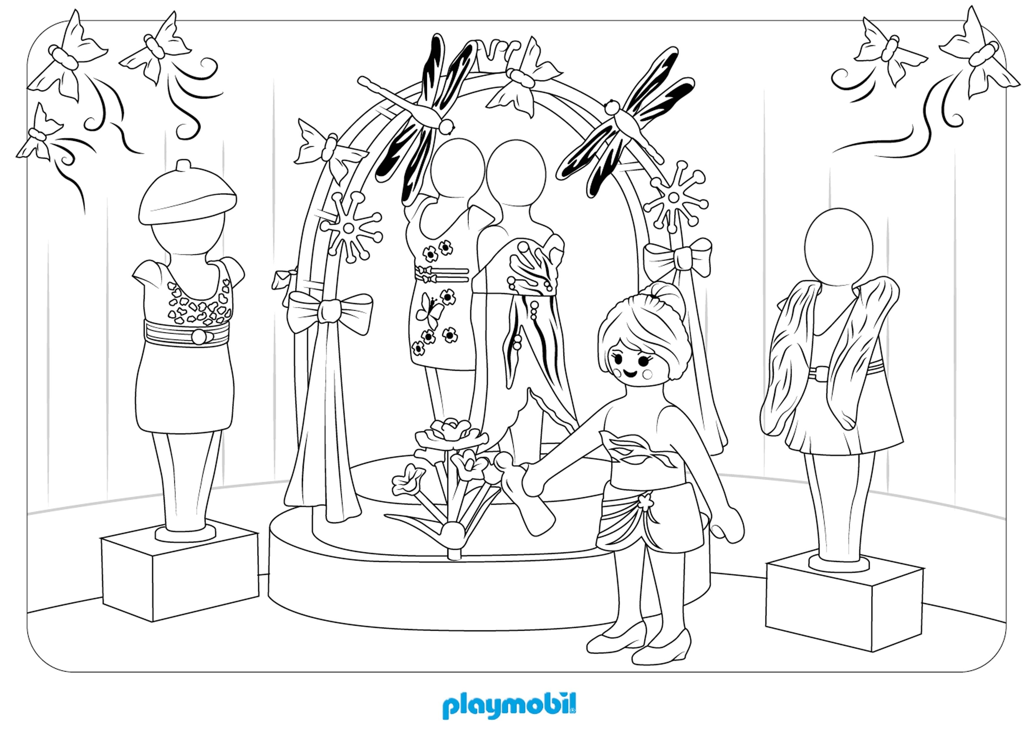 Coloriage Playmobil Ecole à Imprimer Stepindancefr