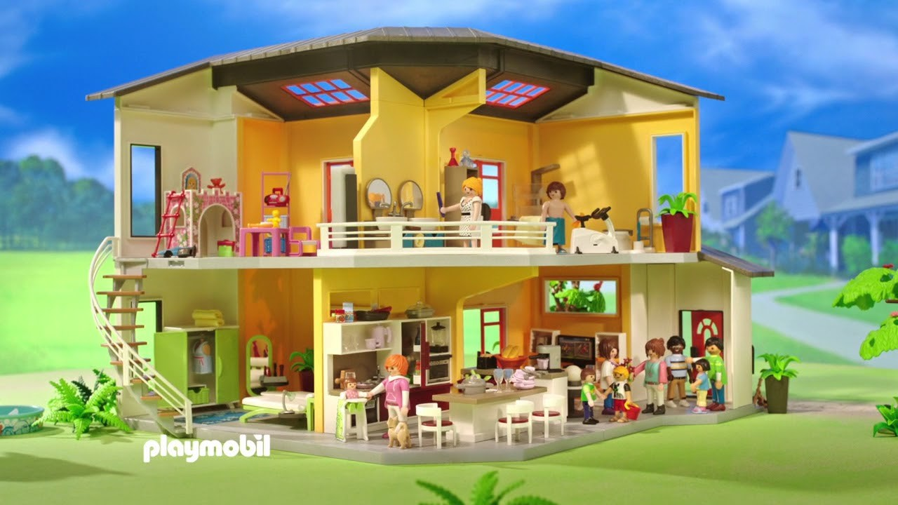 Playmobil Youtube Maison