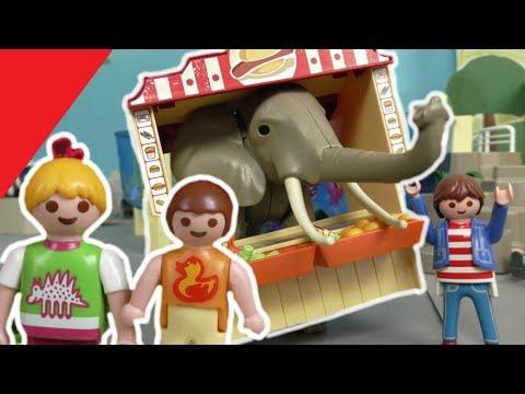 Playmobil familie hauser im zoo