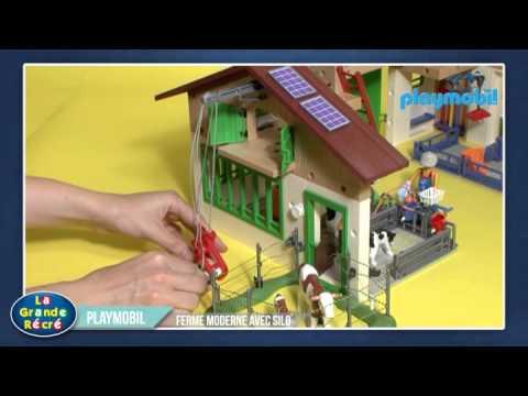 Playmobil ferme dessin animé