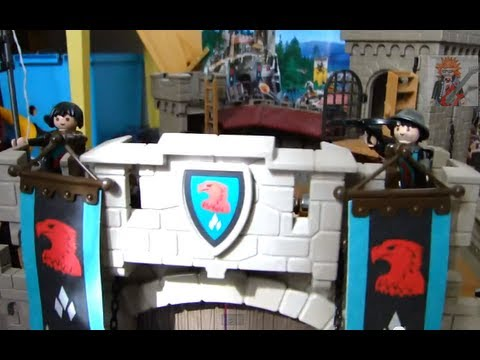 Playmobil chateau fort film