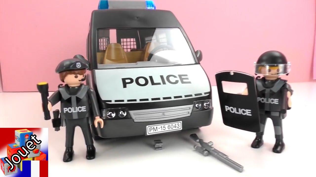 Video playmobil pompier police