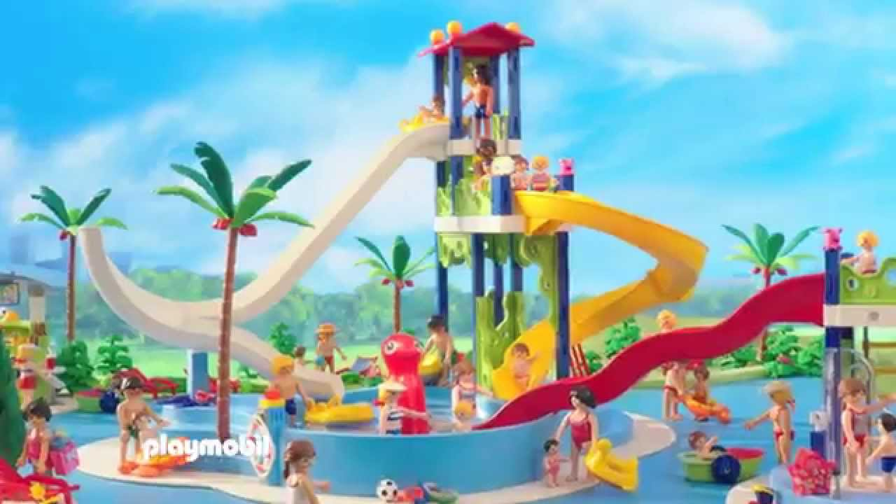 Playmobil summer fun parc aquatique