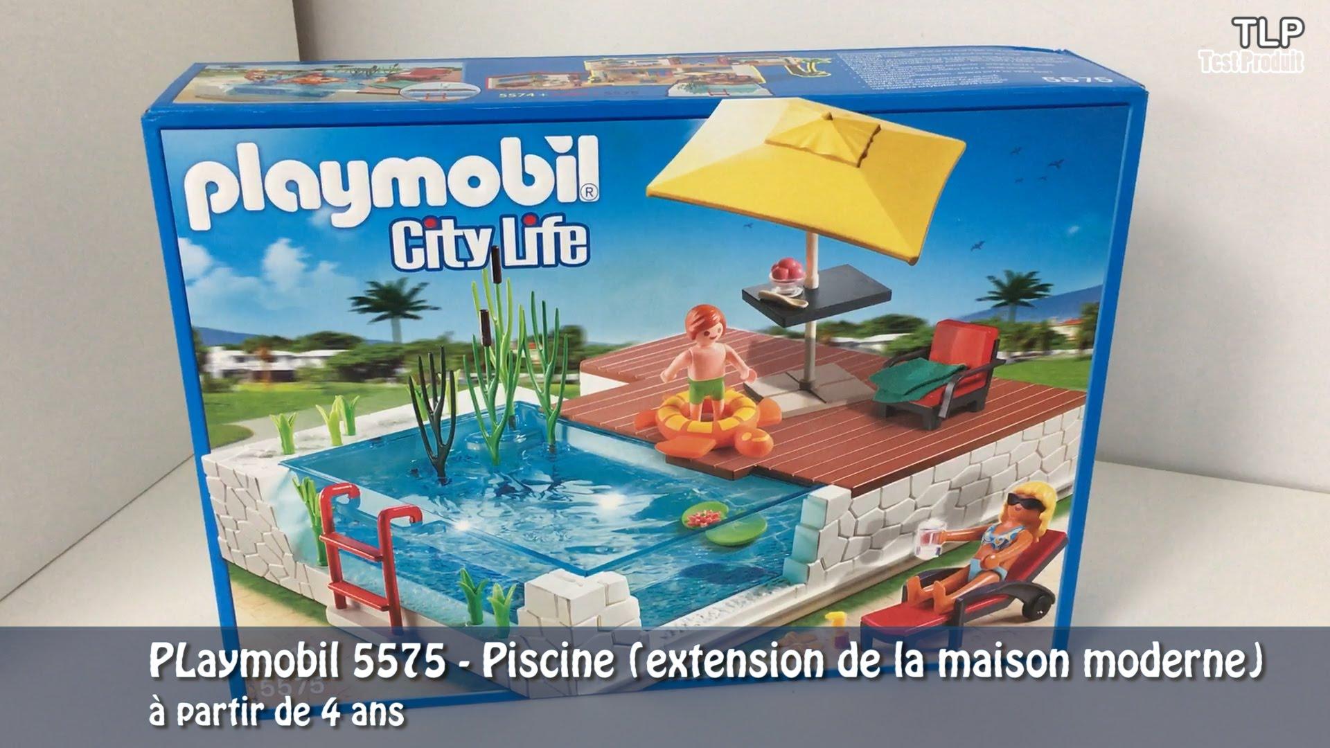 Playmobil city life la maison moderne - stepindance.fr