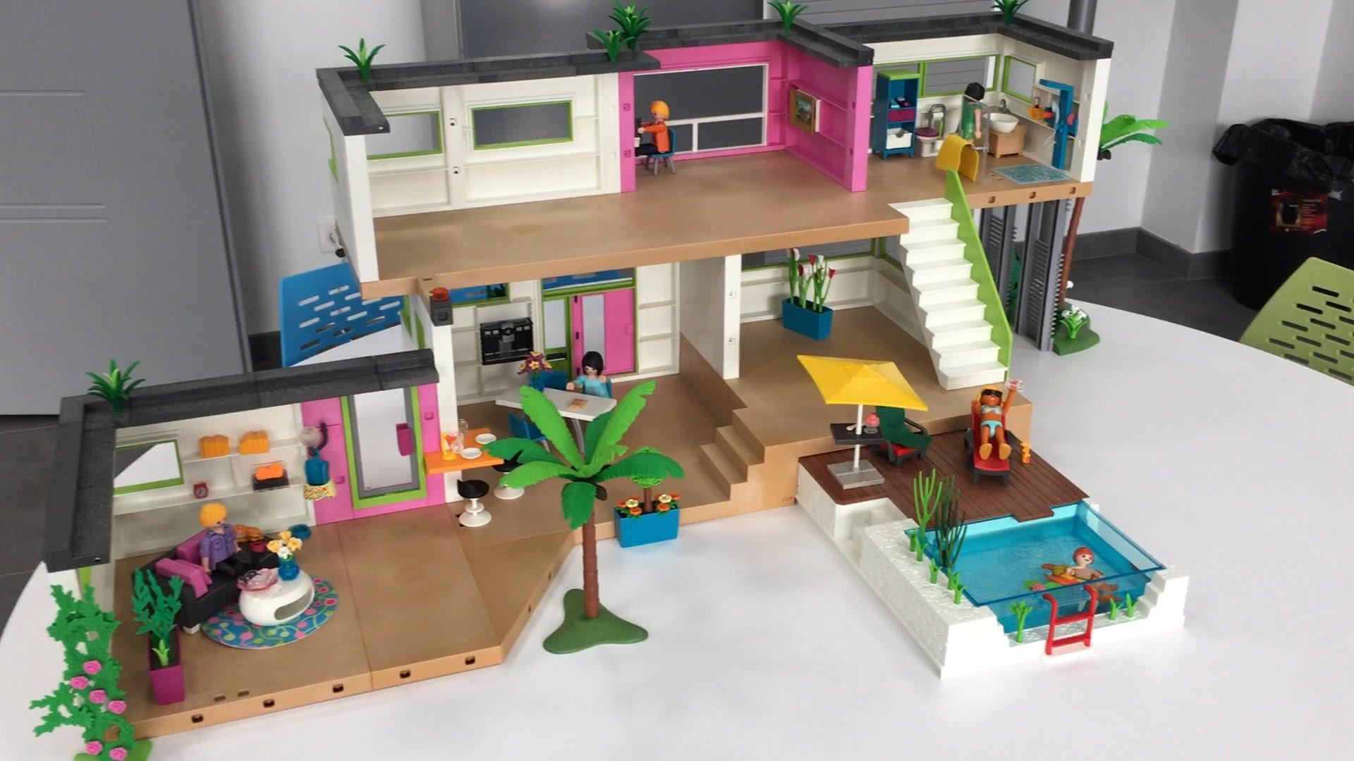 Playmobil villa moderne de luxe - stepindance.fr