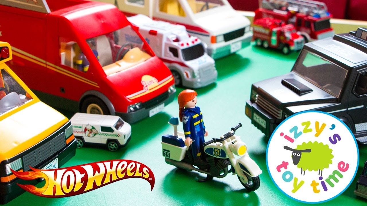 Playmobil police on youtube