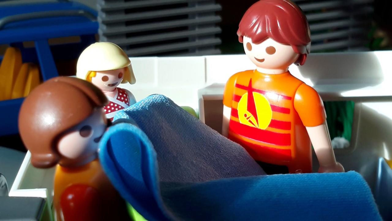 Vidéo playmobil en vacances