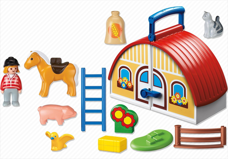 Playmobil ferme transportable 6778