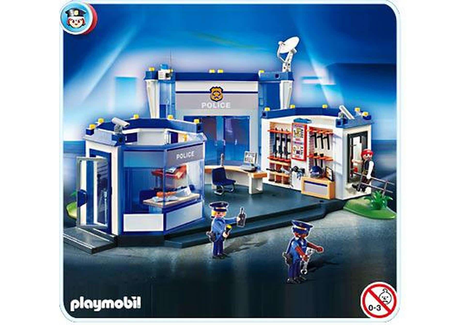 Playmobil commissariat de police amazon