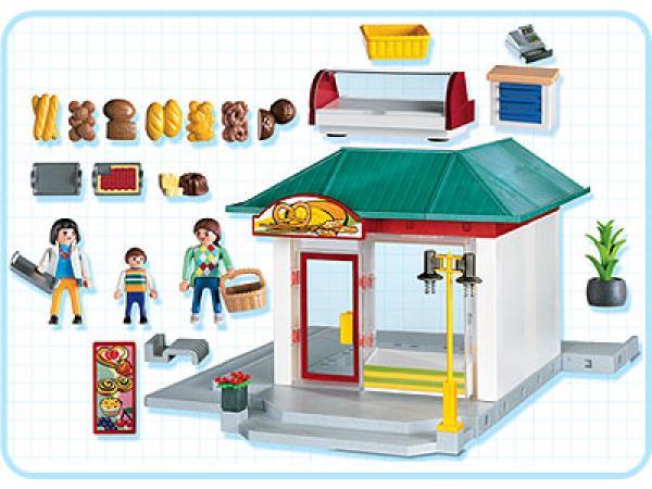 Voiture boulangerie playmobil