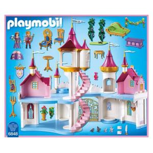 Grand Chateau Princesse Playmobil Occasion